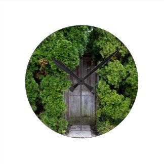 Secret Garden 2 Round Clock