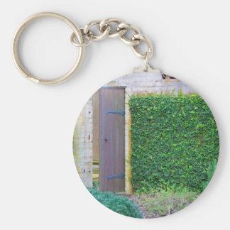 Secret Garden Key Ring