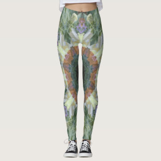 Secret Garden Mandala Leggings
