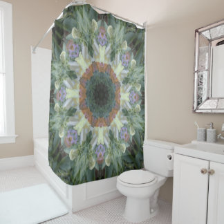 Secret Garden Mandala Shower Curtain