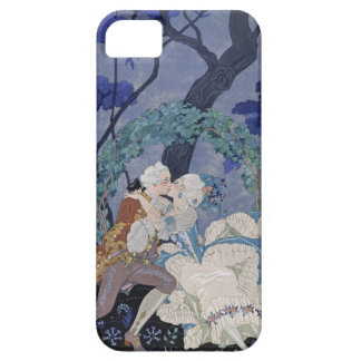 Secret Kiss, illustration for 'Fetes Galantes' by iPhone 5 Cover