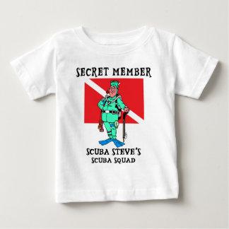 Secret Member SCUBA Steve Baby Tshirt