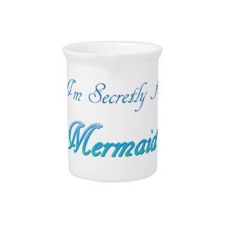 Secret Mermaid Pitcher