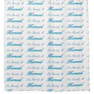 Secret Mermaid Shower Curtain