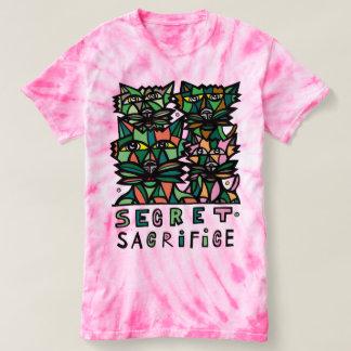 """""""Secret Sacrifice"""" Women's Cyclone Tie-Dye T-Shirt"""