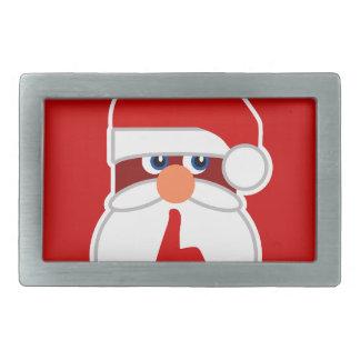Secret Santa Rectangular Belt Buckle