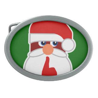 Secret Santa Belt Buckles