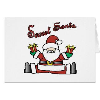 secret santa card