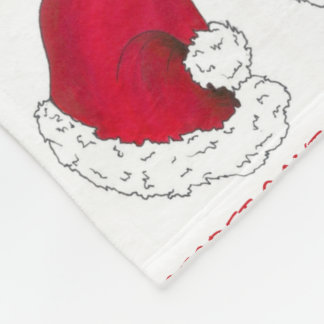 Secret Santa Claus Gift Red Christmas Holiday Xmas Fleece Blanket