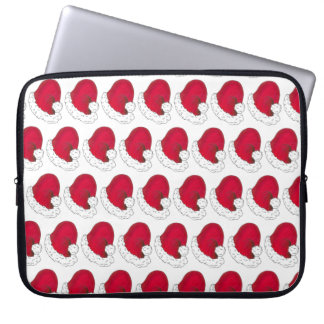 Secret Santa Claus Ho Ho Ho Red Christmas Holiday Laptop Sleeve