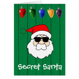Secret Santa Gift Card