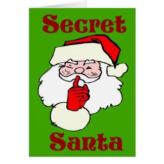 Secret Santa on Christmas Green Card