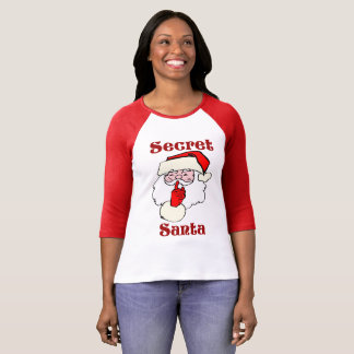 Secret Santa on Christmas T-Shirt