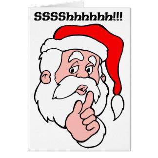 Secret Santa Sssshhhh!! Card