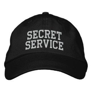 SECRET SERVICE EMBROIDERED HAT