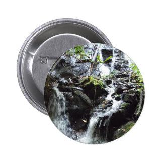 Secret Smoky Mountain Waterfall Button