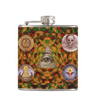 Secret Society Hip Flask