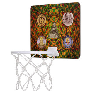Secret Society Mini Basketball Hoop
