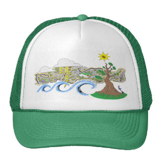 Secret Spot Mesh Hats