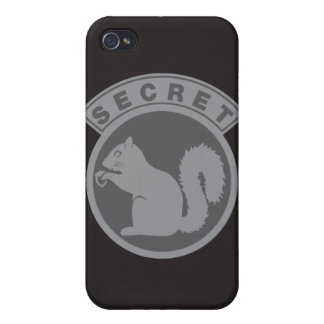 Secret Squirrel iPhone 4 Cover