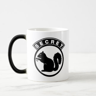 Secret Squirrel Magic Mug
