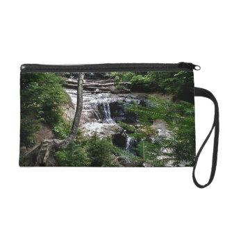 Secret waterfall wristlet