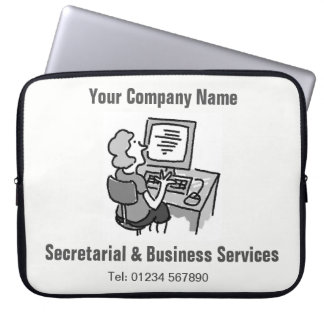 Secretarial & Business Services Computer Sleeve