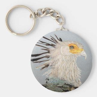 Secretary Bird Key Ring