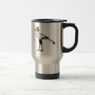 Secretary Bird Travel Mug