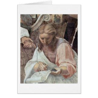 Secretary Of St. Augustine By Raffael Greeting Card