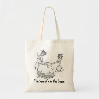 Secret's in the Sauce Budget Tote Bag