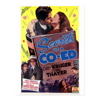 Secrets of a Coed Postcard