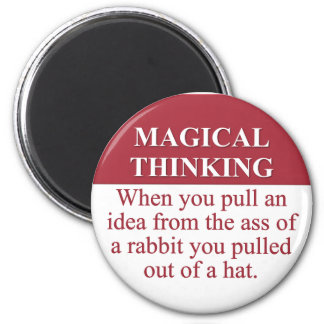 Secrets of Magical Thinking (3) Magnet