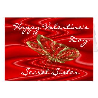 SecretSisValentine-customise any occasion Card