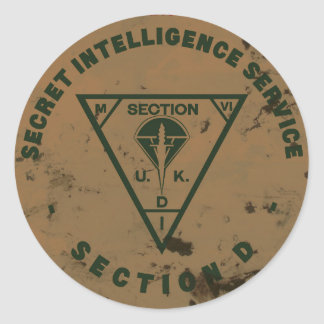 Section D Sticker 1.5""