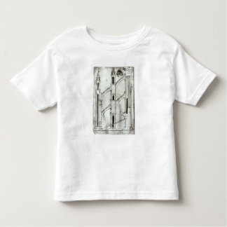 Section of the wall and arch toddler T-Shirt