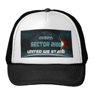 sector 2100 collection 1 trucker hat