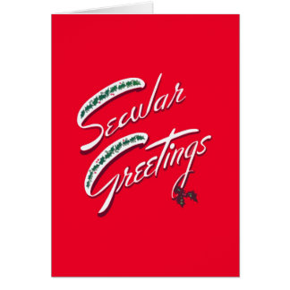 Secular Greetings Atheist Holiday Cards