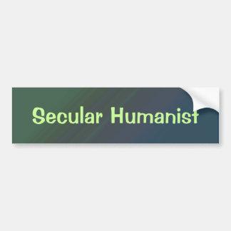 Secular Humanist Bumper Sticker