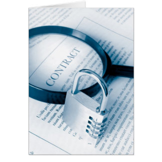secure contract card
