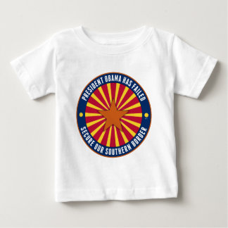 Secure Our Southern Border Baby T-Shirt