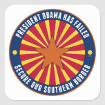 Secure Our Southern Border Sticker