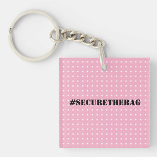 Secure the bag key ring