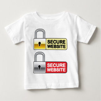 Secure Website Symbol Icon Baby T-Shirt