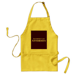 Securities Law Attorney Gifts Aprons