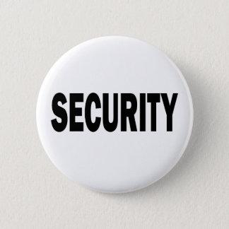 SECURITY 6 CM ROUND BADGE
