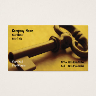 Security Business Cards_1 Business Card