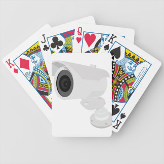 Security Camera Bicycle Playing Cards