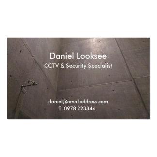 Security Camera CCTV Business card