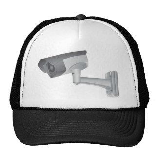 Security camera trucker hats